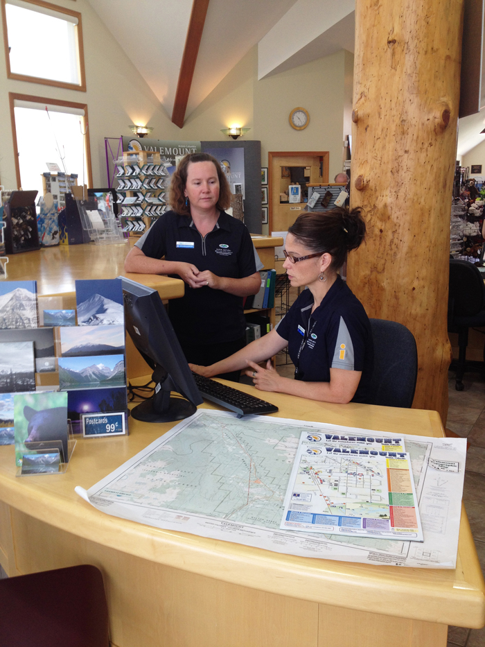 A day in the life at the Valemount Visitor Info Centre