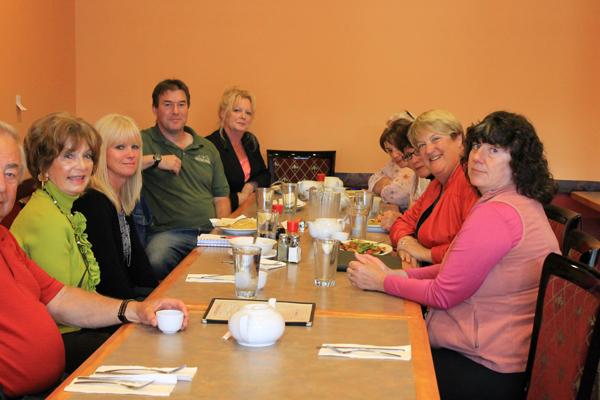 Cathy McLeod visit to Valemount Aug 2014