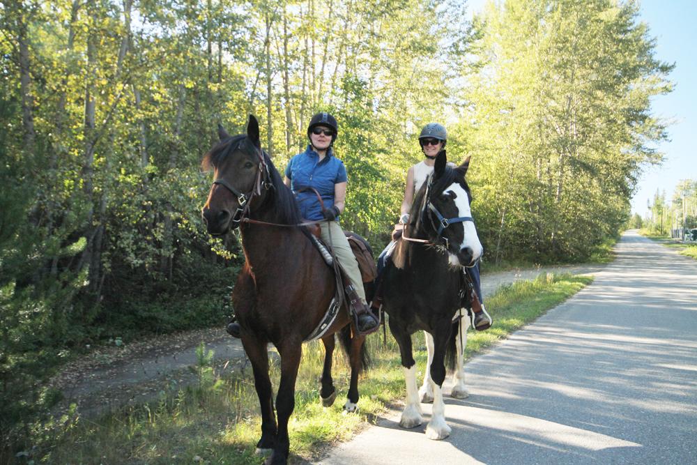 Riette Kenkel Sue Prue Saddle and Wagon poker ride 2014