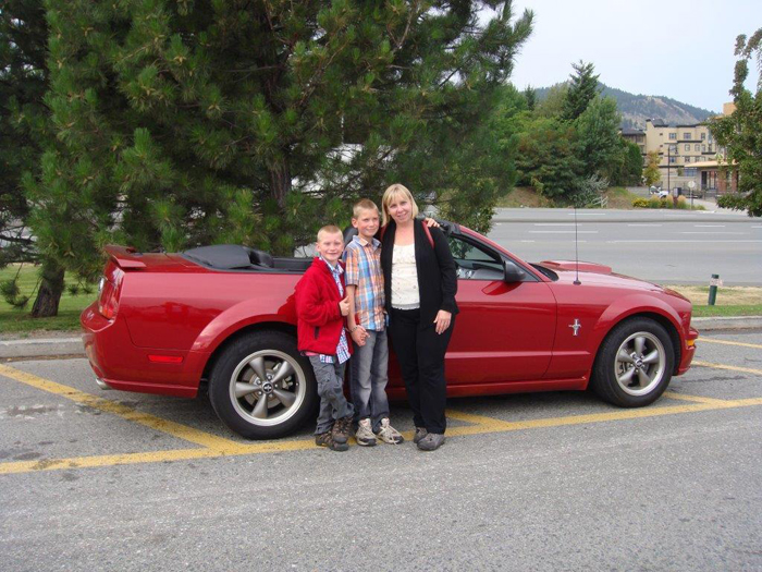 Local woman wins Mustang convertible