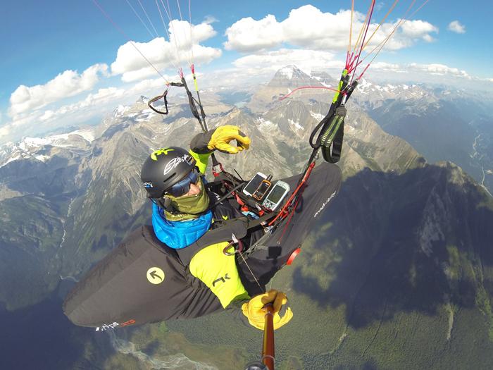 U.S. border or bust: Will Gadd & Gavin McClurg paraglide 800km +VIDEO