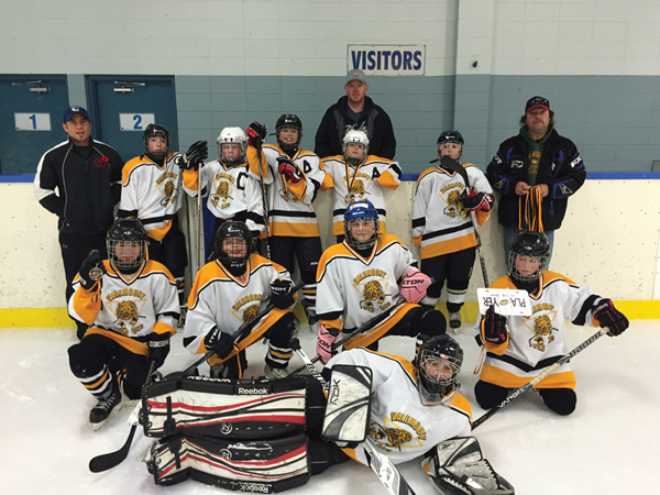 A first minor hockey goal and more wins