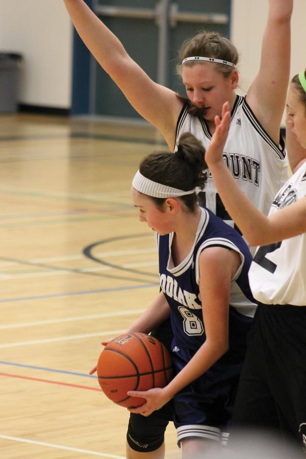 Valemount junior girls' basketball winning streak