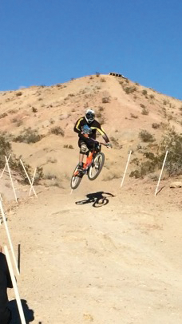 Local mountain biker places third in Nevada
