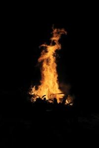 New Years Bonfire Valemount (2)