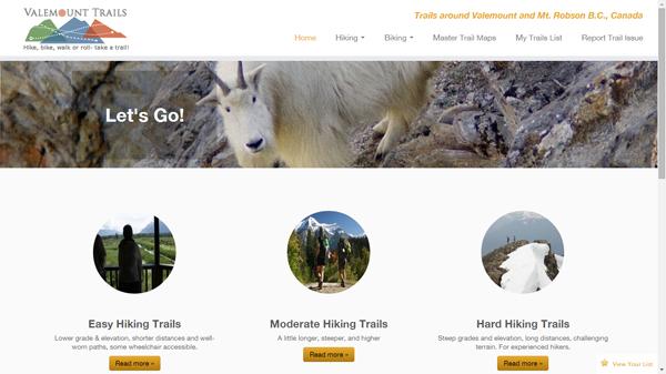 Valemount Trails-Website-Mt-Robson