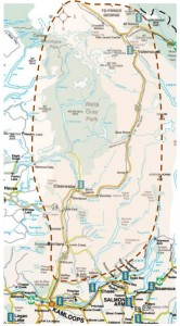 Geopark map full size