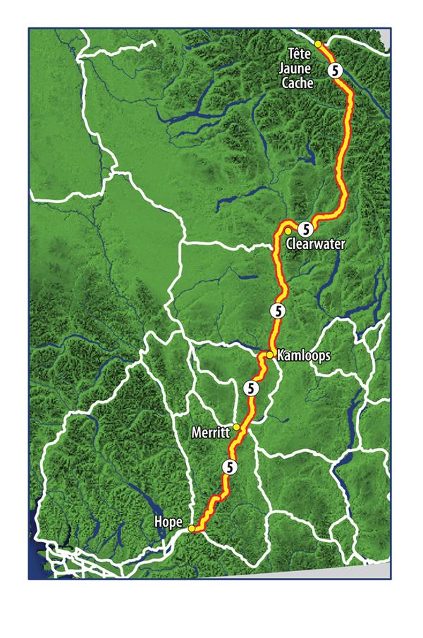 10-year transportation plan-map