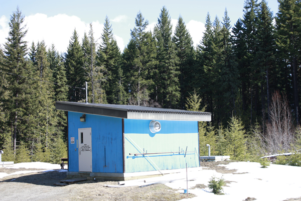 McBride water treatment