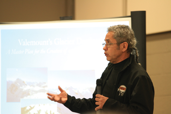 Fred Fortier was elected Chief of the Simpcw First Nation in spring 2015.