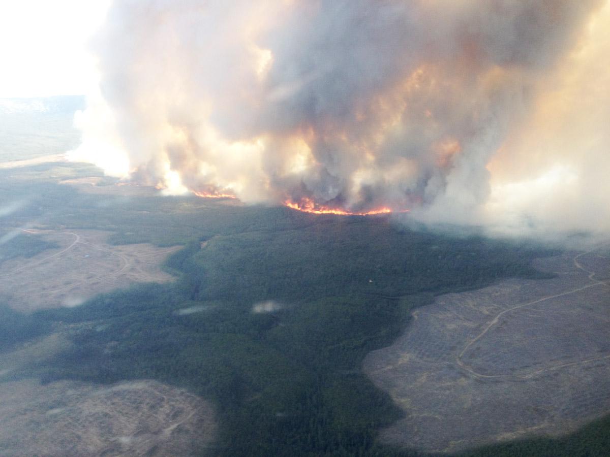 Little Bobtail Fire 2015 Bc Gov Photo