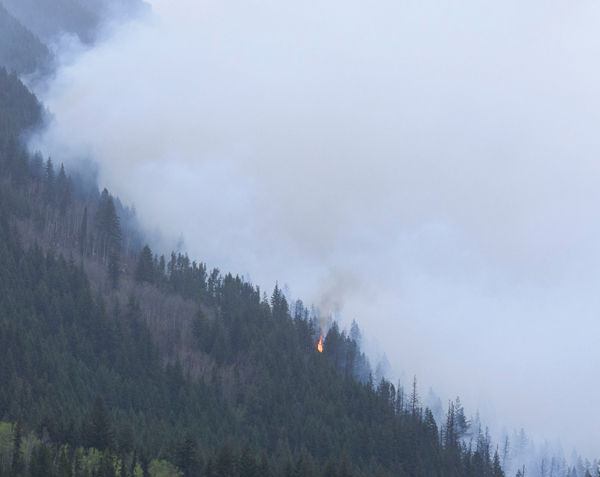 Fire hazard moderate overall, but already evacuations