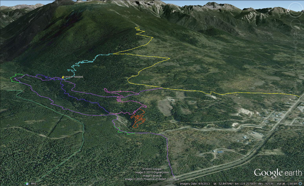Valemount Bike Park Trails Phase 1