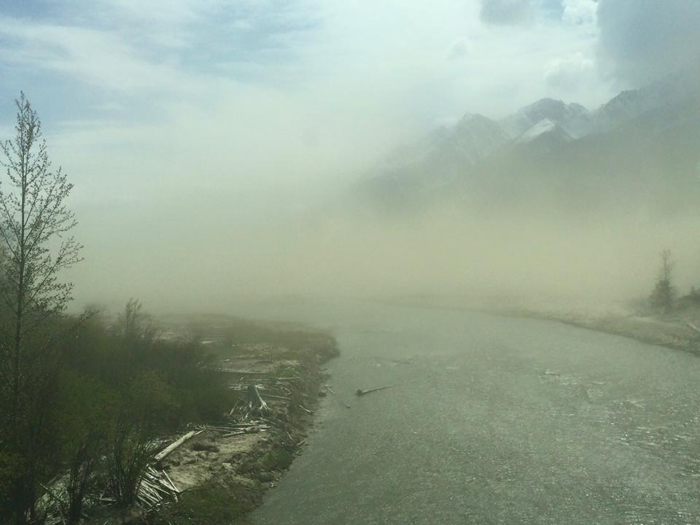 More dust from Kinbasket raises health questions