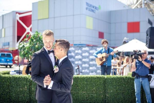 Gay vancouver wedding