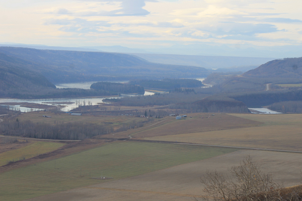 Site C protest oct 2015 peace river (3)