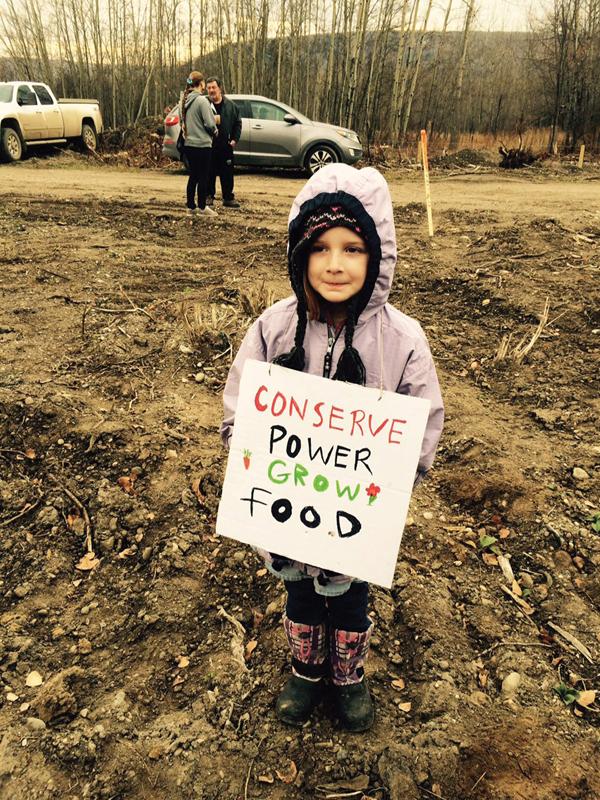 Site C protest oct 2015 peace river (7)