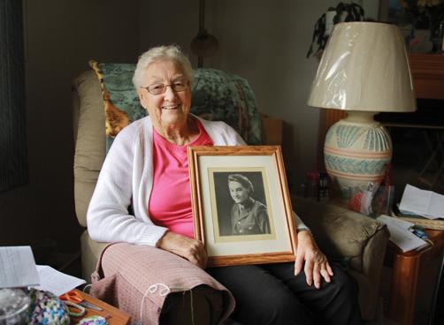 Margaret Brightman WW2 veteran living in valemount, BC