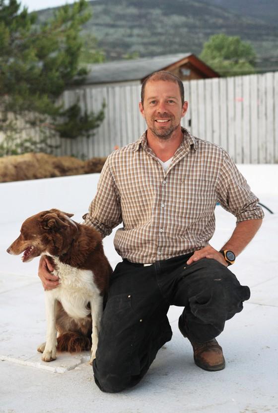 Erik Olofsson, Valemount Passive house builder.