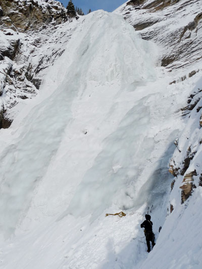 Little lost_web ice climbing ross
