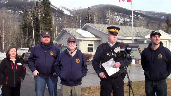 McBride fatal avalanche press conference VIDEOs