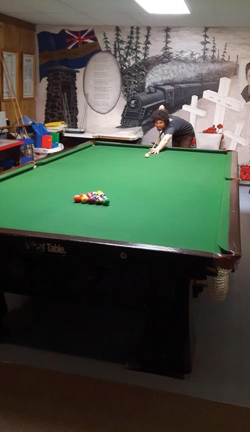 pool table legion