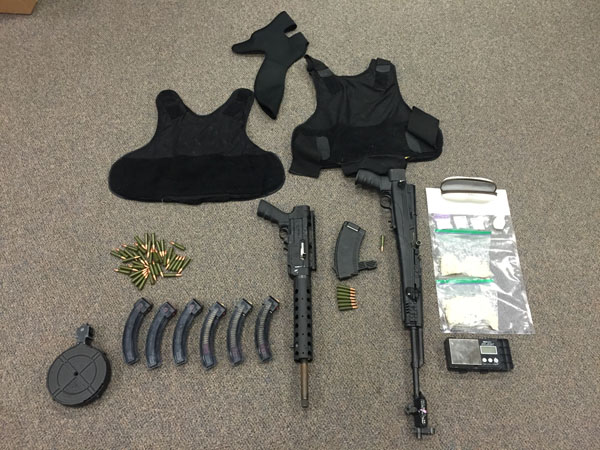 RCMP confiscate weapons guns