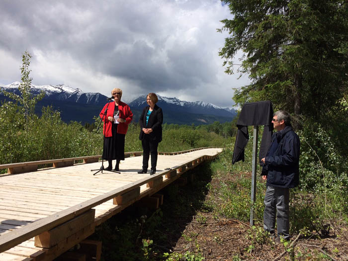 Dignitaries celebrate improved accessibility at marsh