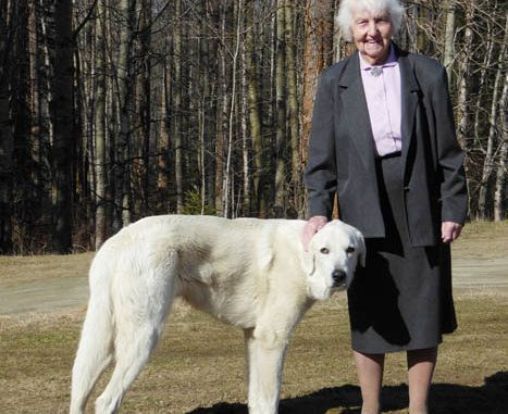 Photo: Matthew Wheeler  - A recent photo of Marilyn Wheeler taken just over a month ago with her beloved dog Patch.