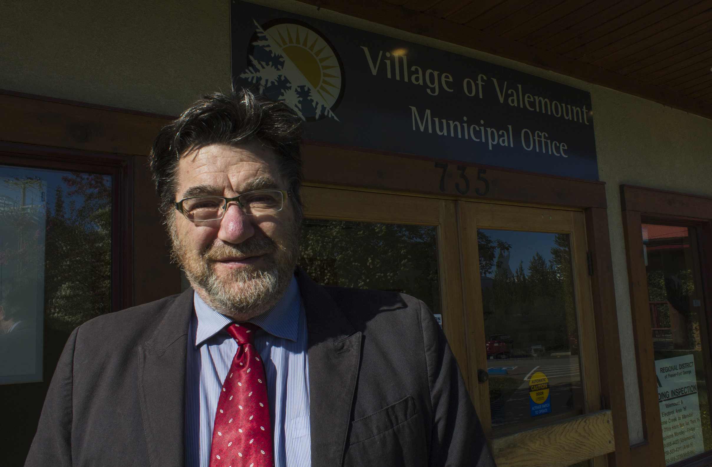 RMG File Photo Mark Brennan is the recently dismissed, former corporate officer for the Village of Valemount.