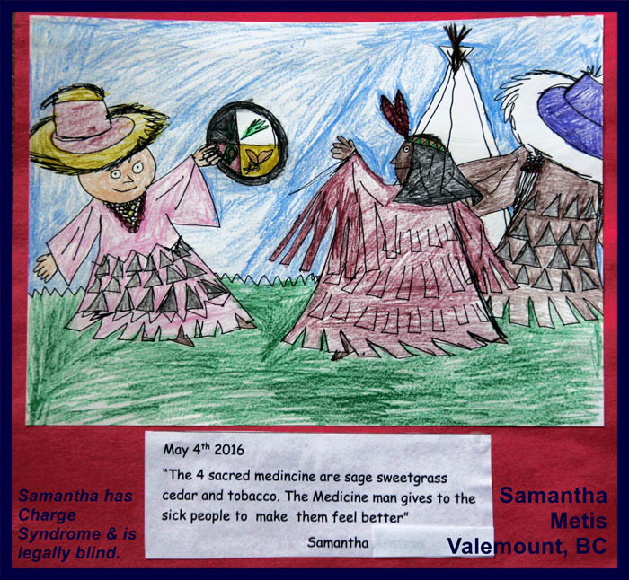 Local girl wins provincial poster contest