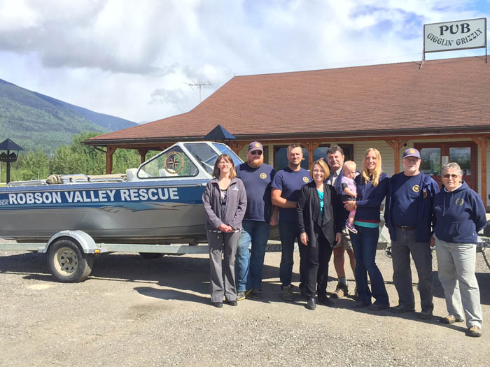 Shirley Bond Robson Valley Search and Rescue funding_web