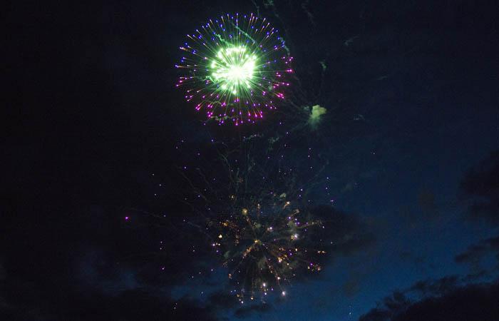 Fireworks in Valemount