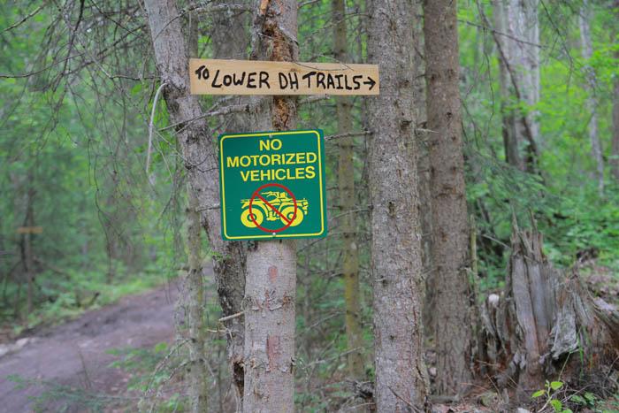 ATVs damage Swift Creek trail