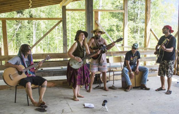 Photo: Evan Matthews Jasper's the Athabasca Barn Burners