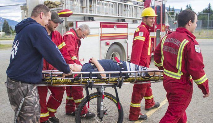 Valemount fire dept rescue bike trails goat newspaper (6)_web