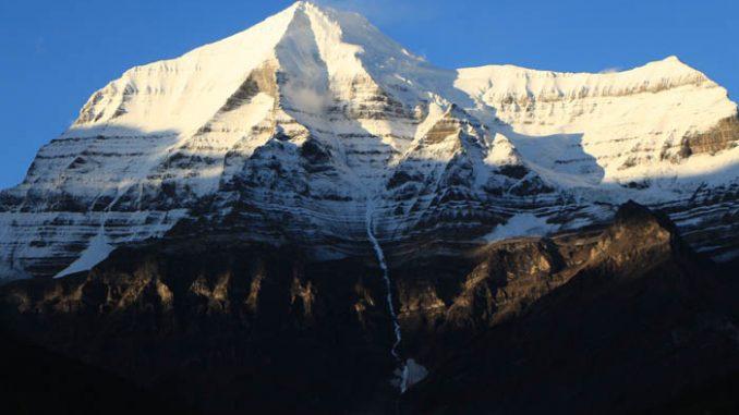 Photo: Dennis Pickerl A stunning shot of Mount Robson