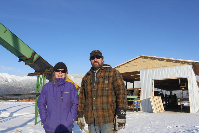 Local mill expands on Community Forest land