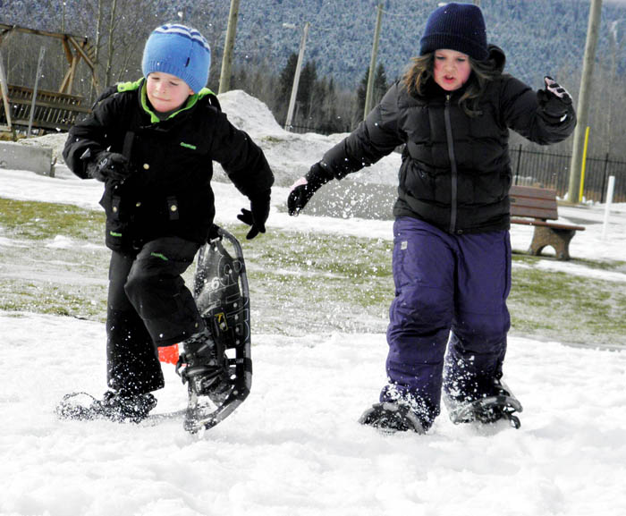 McBride embraces the cold during its 5th Annual Snofest