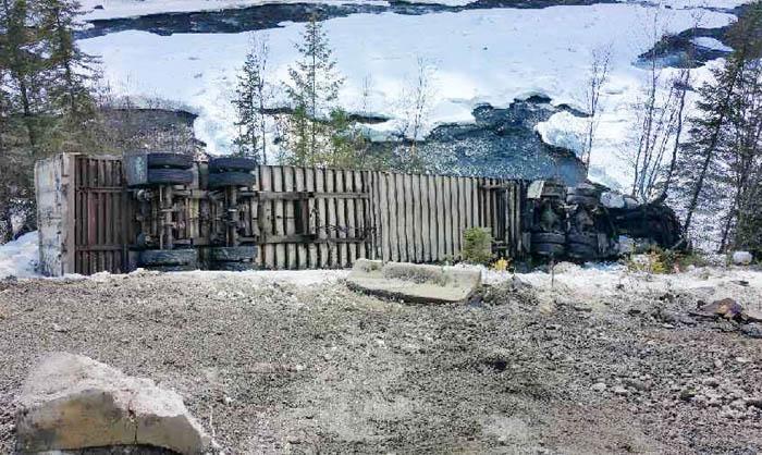 Diesel spill avoids Fraser, mostly