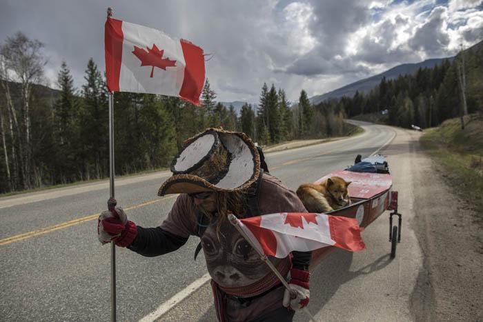 Kayaking across Canada