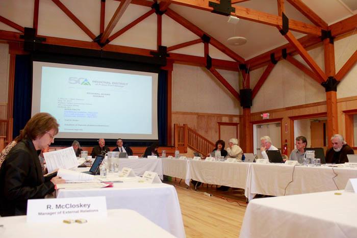 Regional District meets in McBride