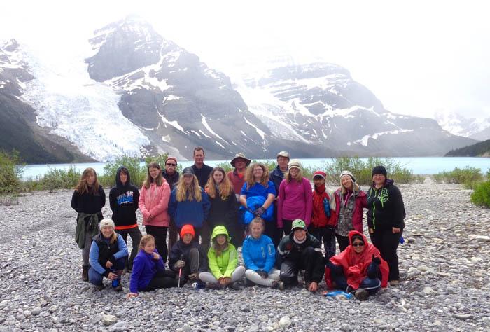 Grade 7 Berg Lake trip