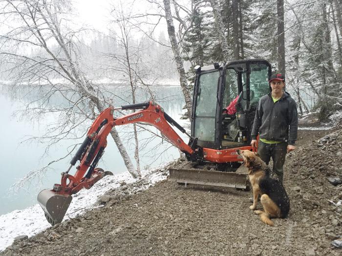 Local builder helps spread mountain biking