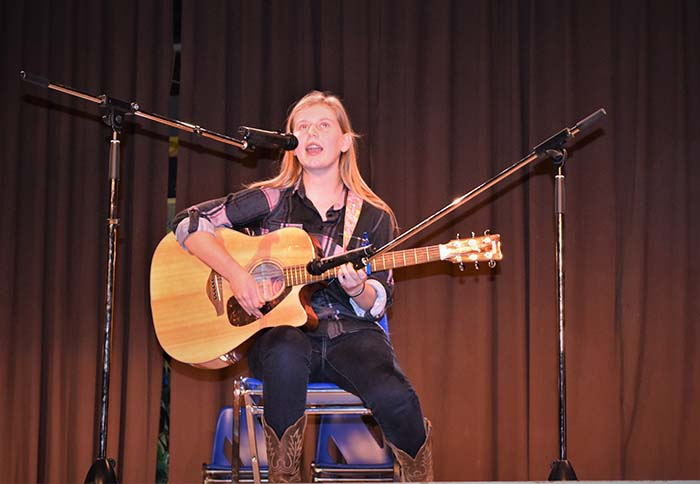 Talented artists perform for a worthy cause