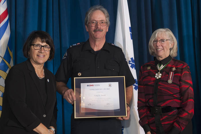 Long serving McBride paramedic recognized