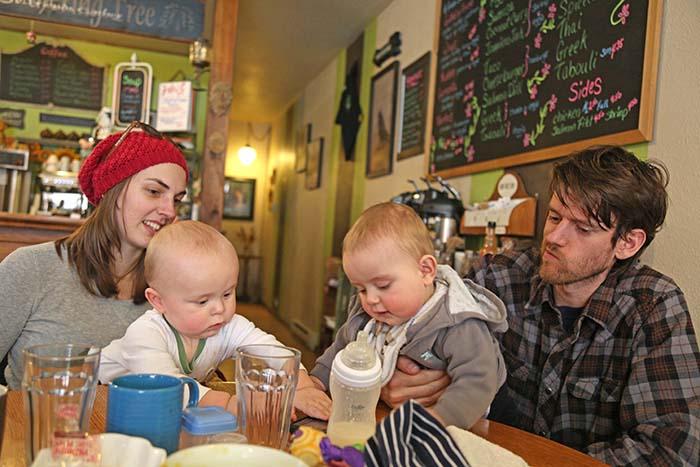 Babies gathering
