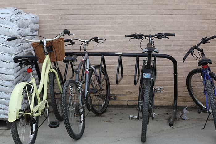New bike racks installed in Valemount