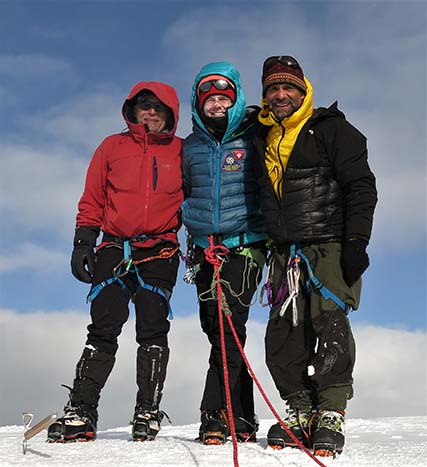 Ascending Jeannette: First ascent of mountain with historic ties