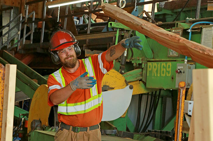 Local cedar mill adds new product line